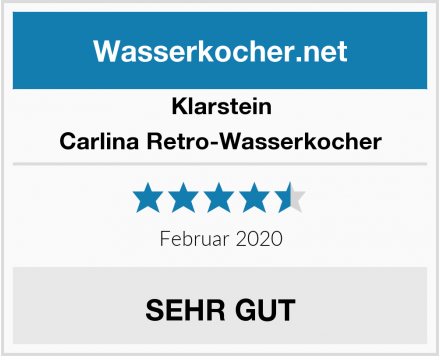Klarstein Carlina Retro-Wasserkocher Test