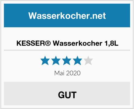 KESSER® Wasserkocher 1,8L Test