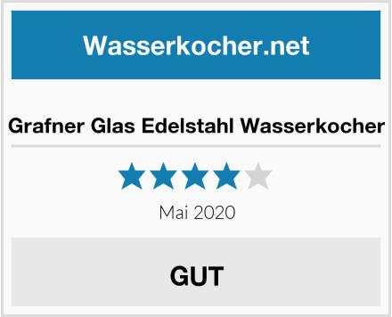Grafner Glas Edelstahl Wasserkocher Test