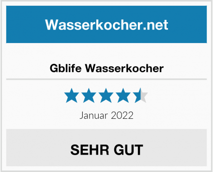Gblife Wasserkocher Test