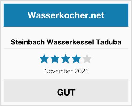 Steinbach Wasserkessel Taduba Test