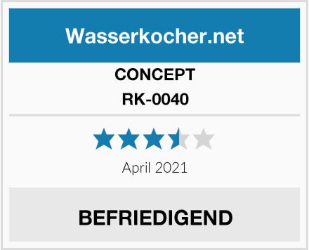 CONCEPT RK-0040 Test