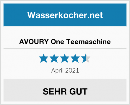 AVOURY One Teemaschine Test