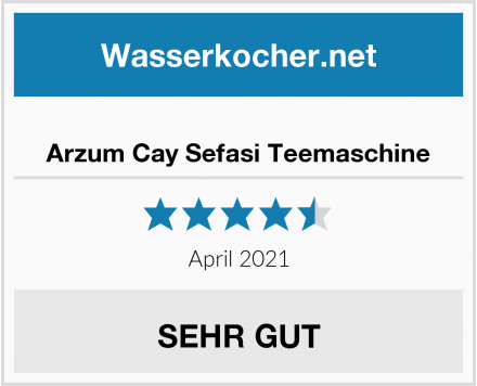 Arzum Cay Sefasi Teemaschine Test