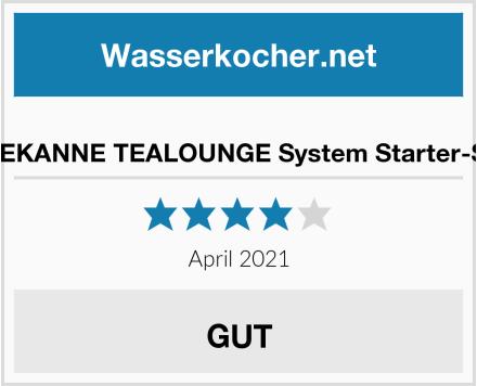 TEEKANNE TEALOUNGE System Starter-Set Test