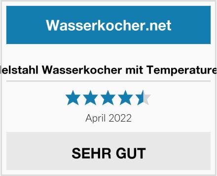 Linnuo Edelstahl Wasserkocher mit Temperatureinstellung Test