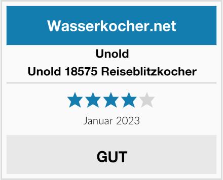 Unold Unold 18575 Reiseblitzkocher  Test