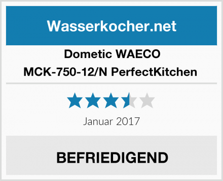 Dometic WAECO MCK-750-12/N PerfectKitchen  Test