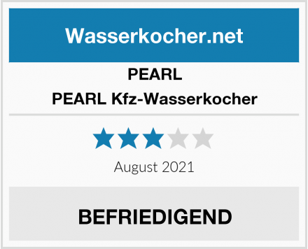 PEARL PEARL Kfz-Wasserkocher Test
