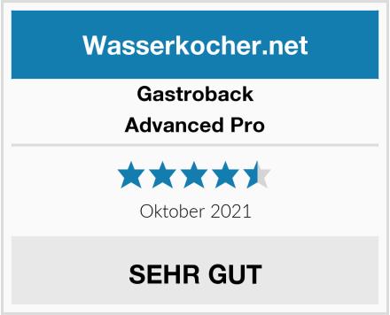 Gastroback Advanced Pro Test