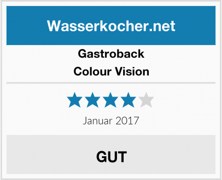 Gastroback Colour Vision Test
