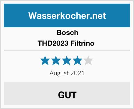 Bosch THD2023 Filtrino  Test