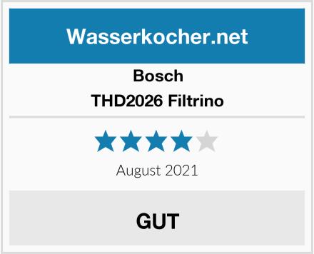 Bosch THD2026 Filtrino Test