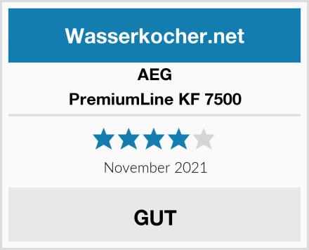 AEG PremiumLine KF 7500 Test
