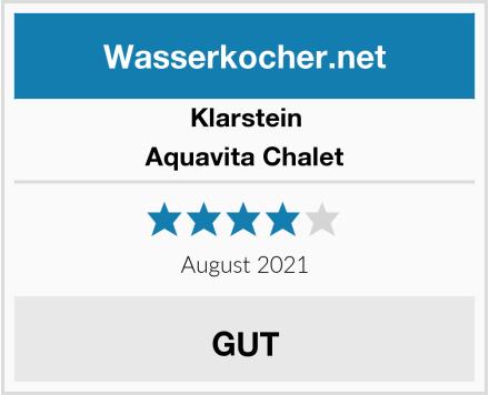 Klarstein Aquavita Chalet Test