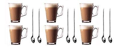 Kitchen Star Glastassen für Latte Macchiato
