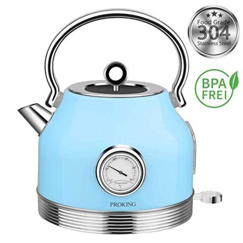 PROKING Wasserkocher Edelstahl