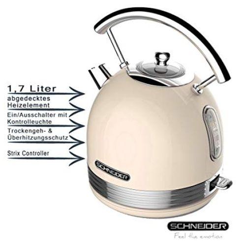 Schneider Wasserkocher SL W2 SC