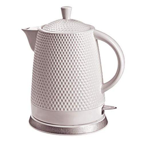 KVOTA Elektrischer Keramik Wasserkocher
